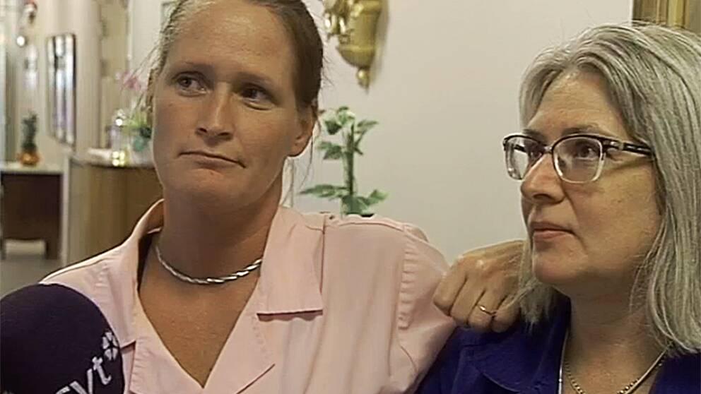 Ulla Johansson och Carina Dahl.