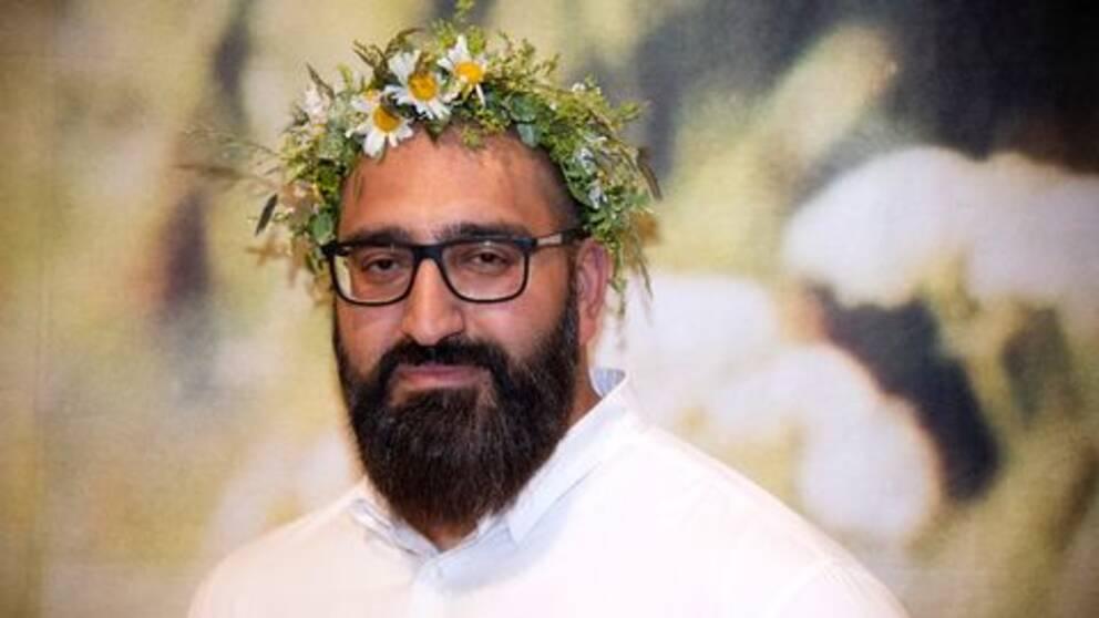 Hamid Zafar sommarpratar i P1