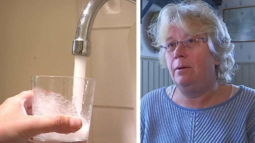 Carina Ohlson (C),ordförande i Nordanstig vattens styrelse.