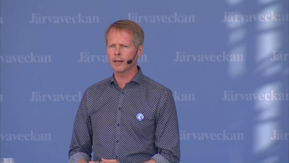 Liberalernas vice partiordförande Christer Nylander