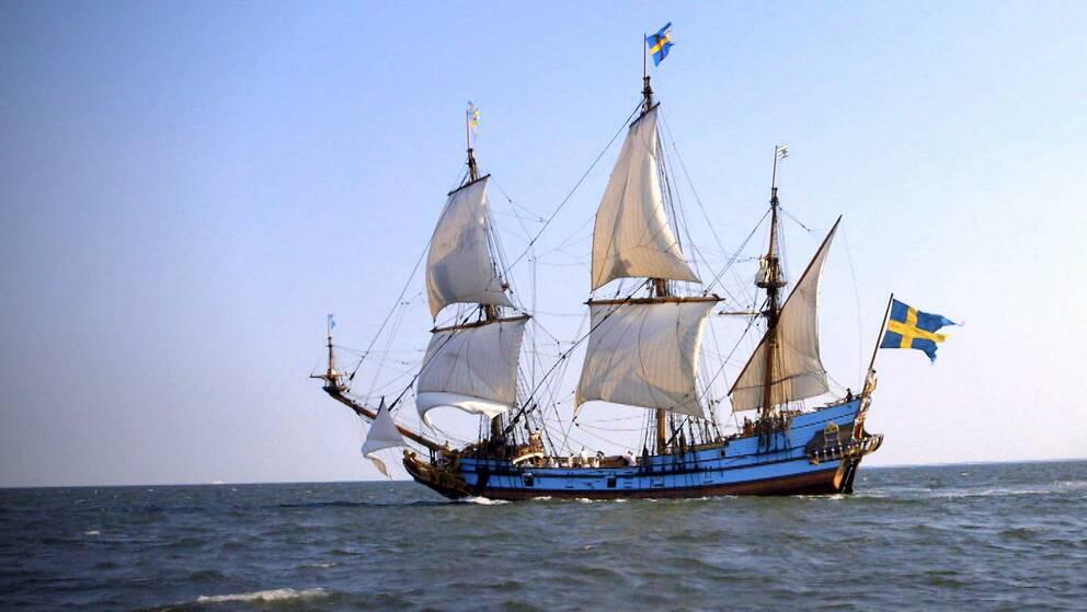 Målet för skeppet Kalmar Nyckel var en koloni i Nordamerika.
