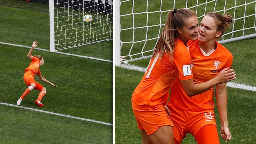Vivianne Midiema tangerade det nederländska målrekordet.
