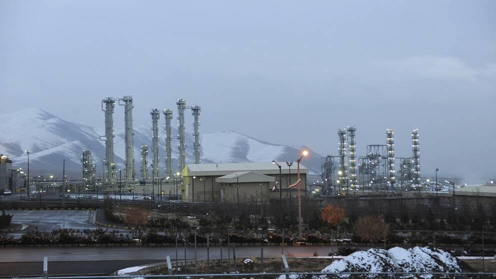 Kärnkraftverket nära Arak, 250 kilometer sydväst om Teheran, Iran.