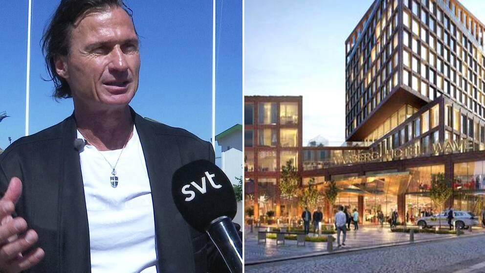 Petter Stordalen berättar i klippet ovan om planen med det nya hotellet i Varberg.