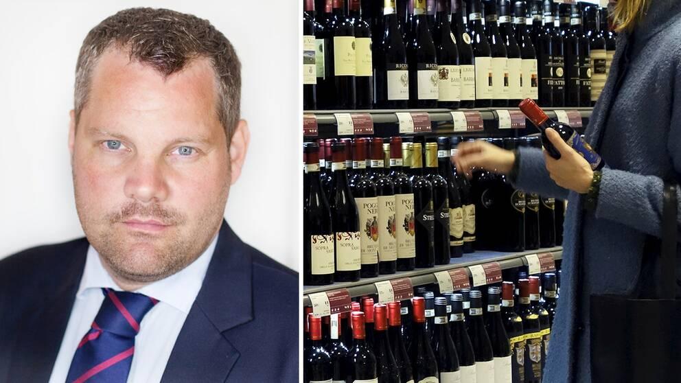 Mattias Grundström är jurist och arbetar i rollen som alkoholgranskningman; Han granskar alkoholreklam på uppdrag av Sveriges bryggerier och Sprit- och vinleverantörföreningen.