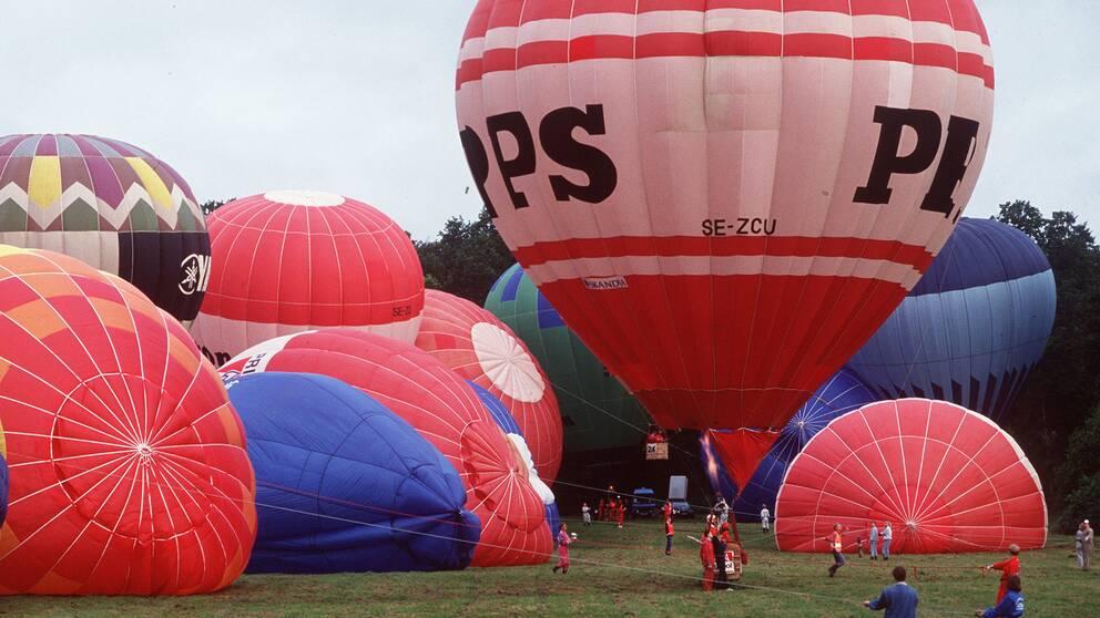 Genrebild ballongflygning