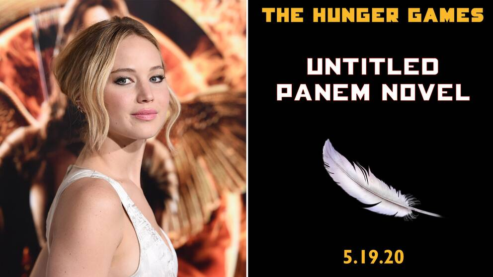 Jennifer Lawrence spelade huvudrollen i film-trilogin om Hunger games.