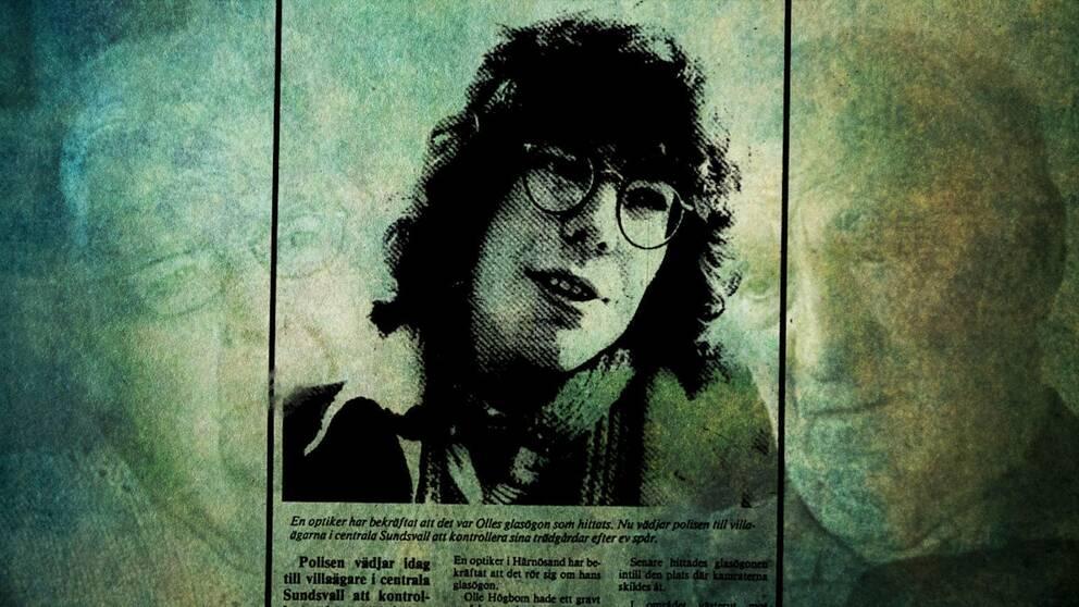 18-årige Olle Högbom från Härnösand är spårlöst försvunnen sedan den 7 september 1983.