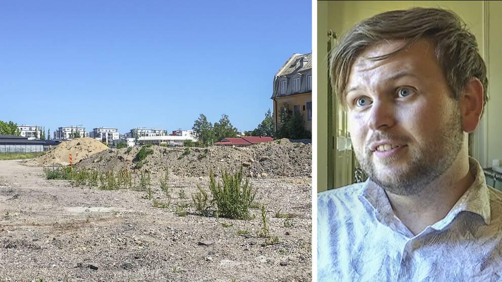 Daniel Olsson (S), ordförande i samhällsbyggnadsnämnden i Gävle.