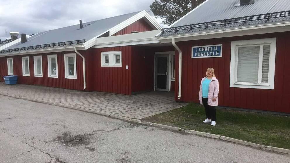 Lombolo förskola i Kiruna fick utrymmas efter hot om skjutning.