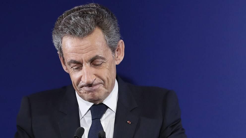 Frankrikes tidigare president Nicolas Sarkozy. Arkivbild.