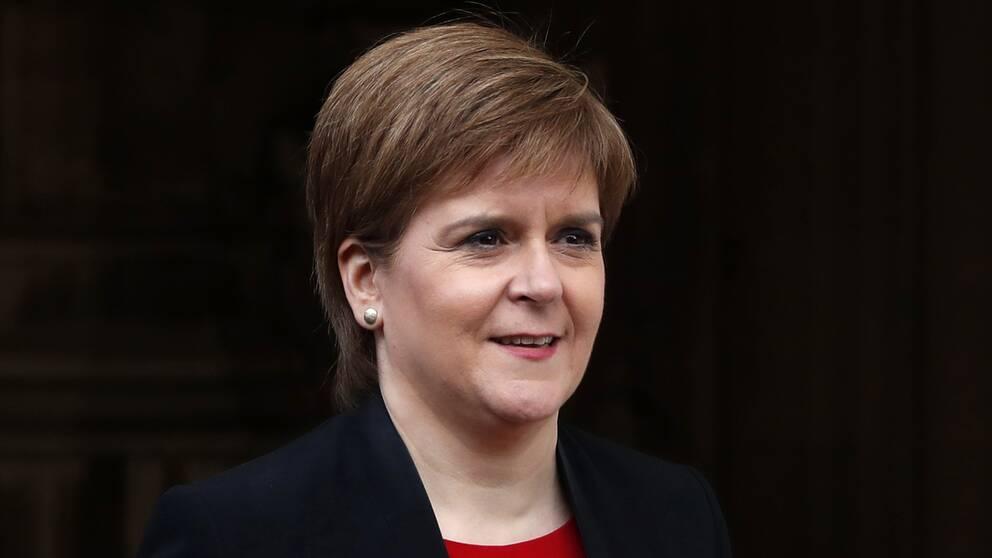 Nicola Sturgeon var upprörd efter VAR-beslutet.