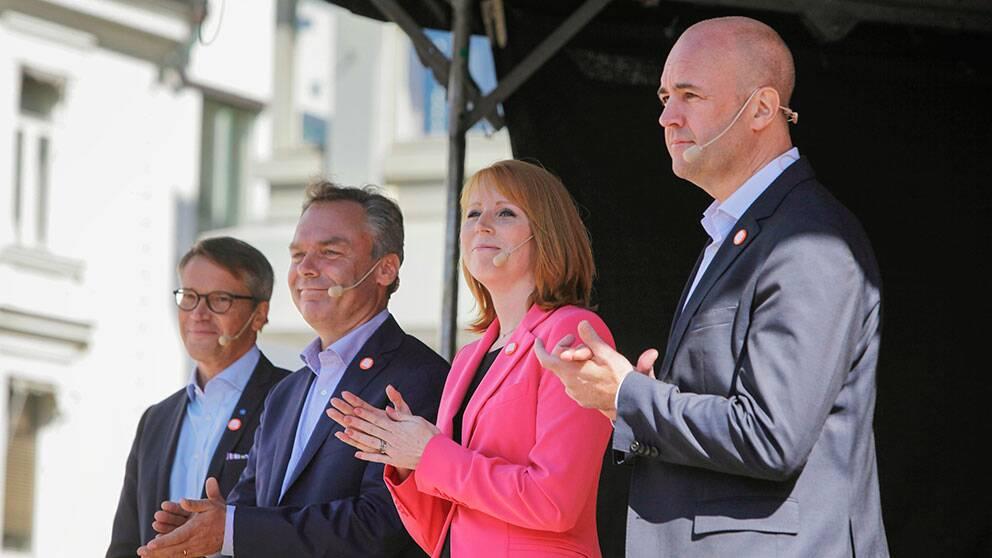 Alliansens partiledare besöker Malmö.