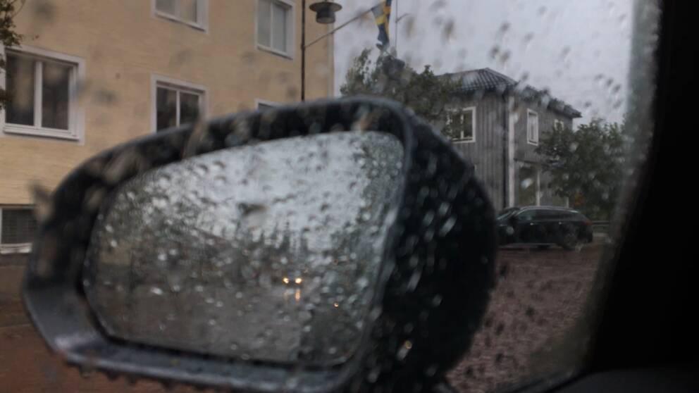 Regn i Vansbro på torsdagen