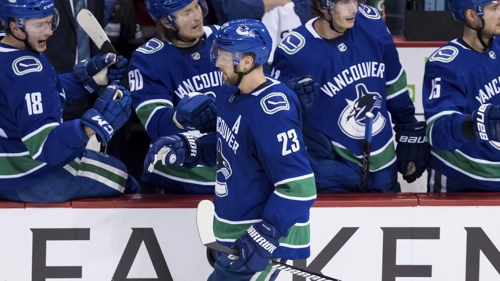 Alexander Edler förlänger med Vancouver Canucks.