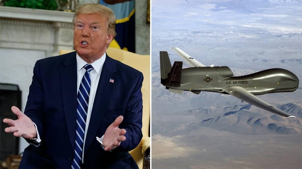 Enligt New York Times beordrade Donald Trump anfall mot Iran, men ordern drogs tillbaka.