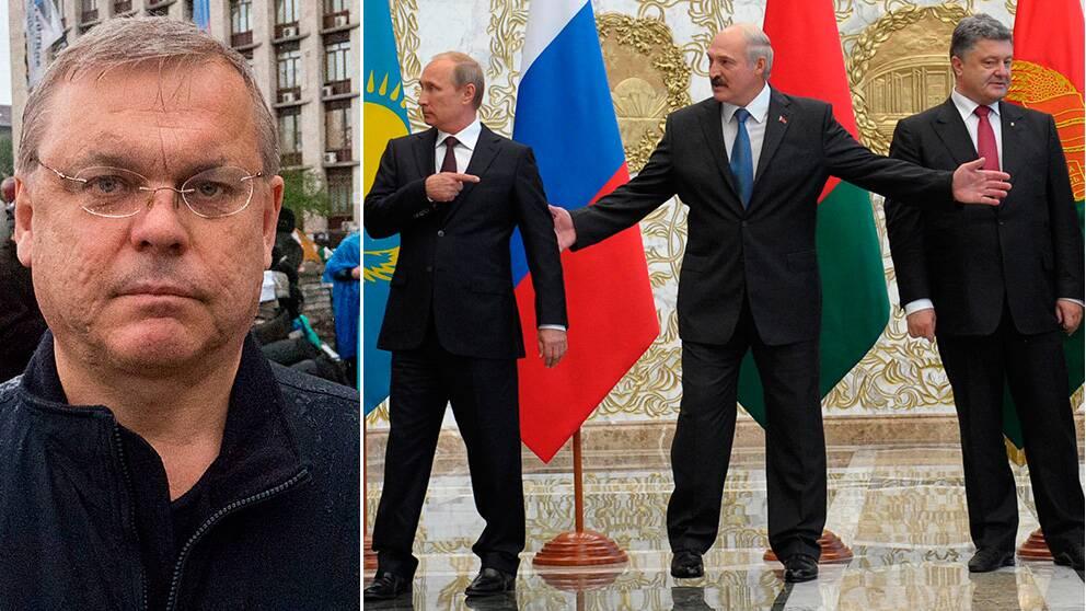 Bert Sundström – Putin, Lukasjenko och Porosjenko