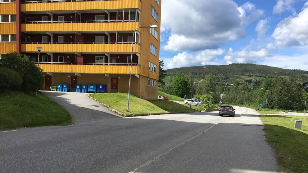 Hus i västra Kramfors