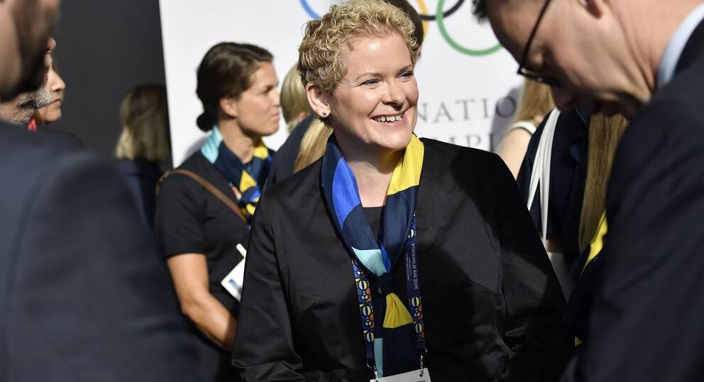 Karin Wanngård i Lausanne