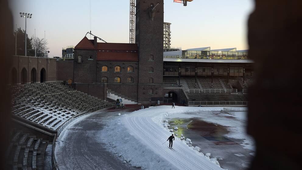 Stockholm Stadion i Stockholm.