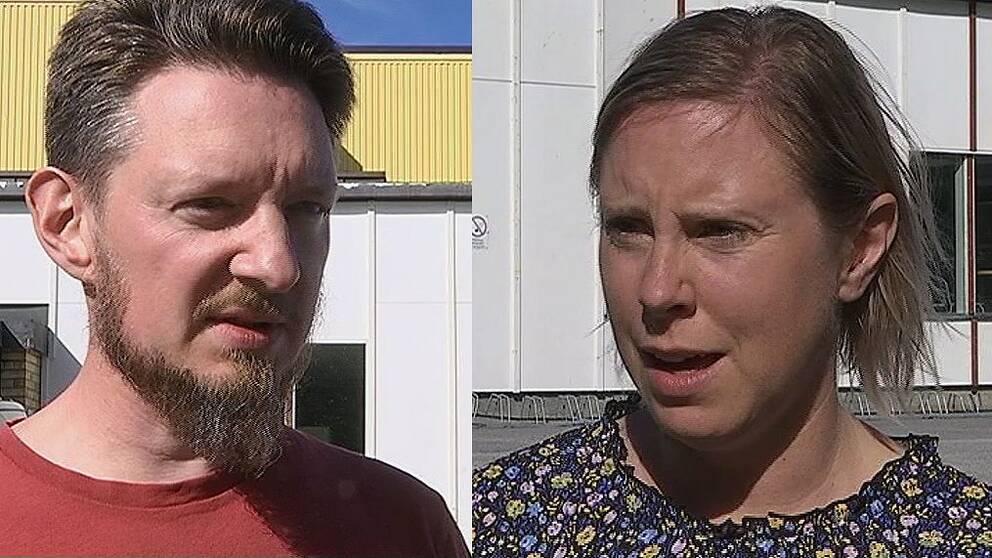 Jan Lötberg, Bollstabruks intresseförening och Mirjam Sundström, Nylands Engagerade,