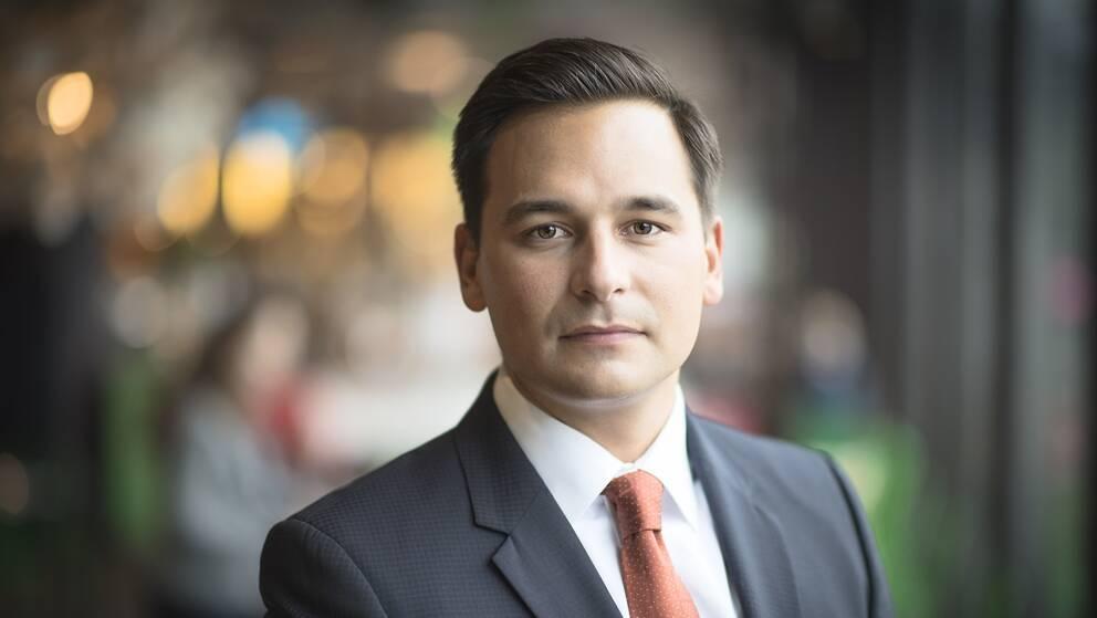Handelskammarens VD Andreas Hatzigeorgiou efter OS-beskedet.