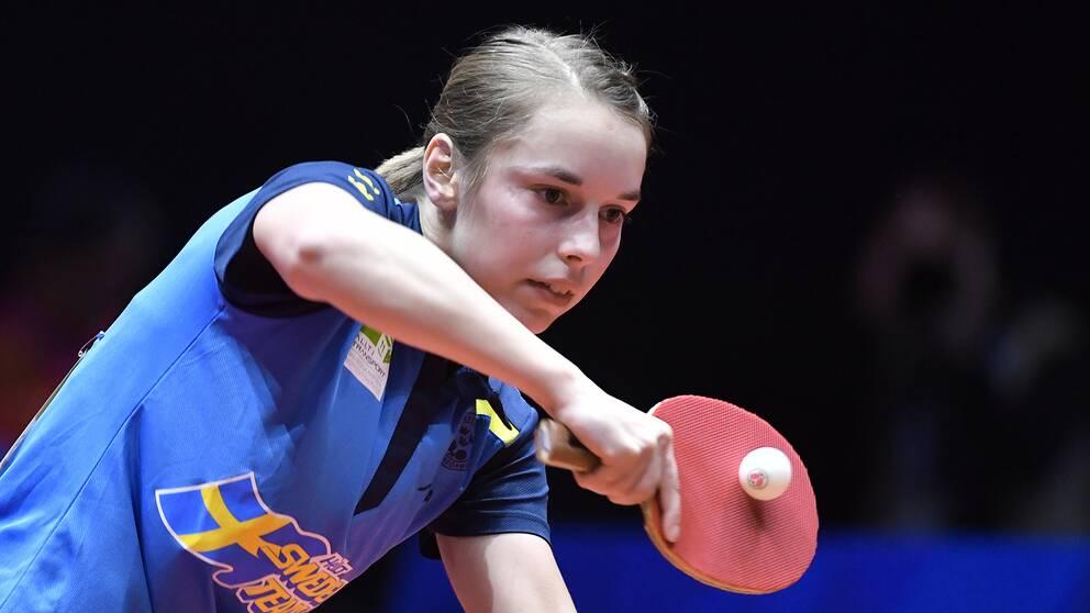 Linda Bergström åkte ut i kvartsfinal i Europeiska spelen i Minsk.