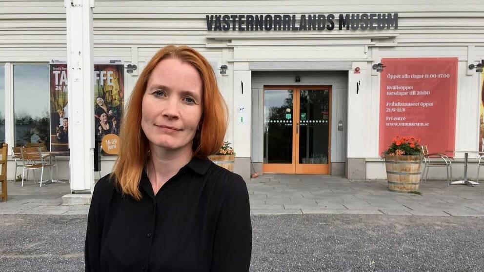 Jenny Samuelsson, chef för Västernorrlands museum i Härnösand.