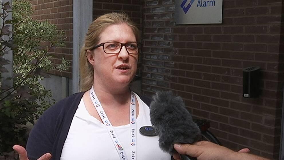 Linda Jonsson SOS-operatör i Norrköping