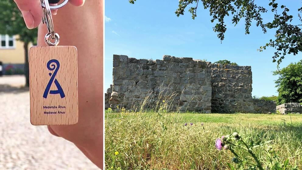 I Åhus pågår ett stort turistprojekt med fokus på medeltiden.