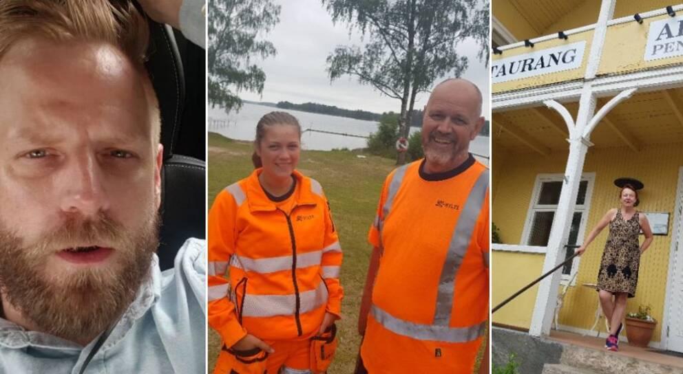 Mattias sammanfattar sin fjärde dag i Hylte. Bland annat besökte han ett läger.