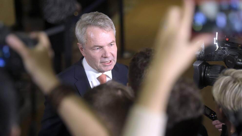 Finlands utrikesminister Pekka Haavisto (De gröna).