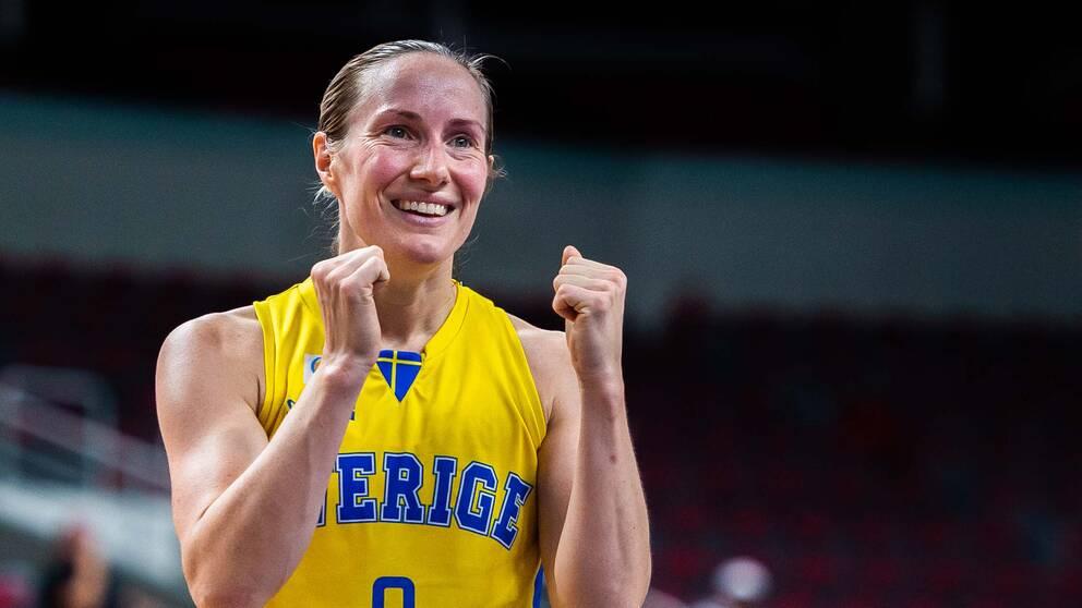 Frida Eldebrink vet hur hon ska hantera Lettlands stjärna Elina Diakaioulaku.