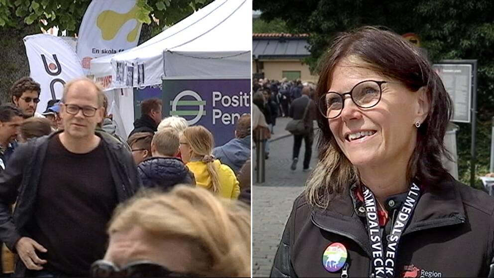 Mia Stuhre, Almedalsveckans projektledare.