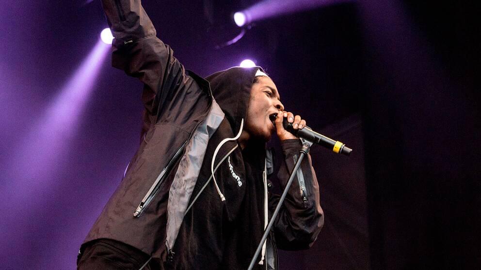 Artisten Asap Rocky häktades i Stockholm förra veckan efter ett bråk.