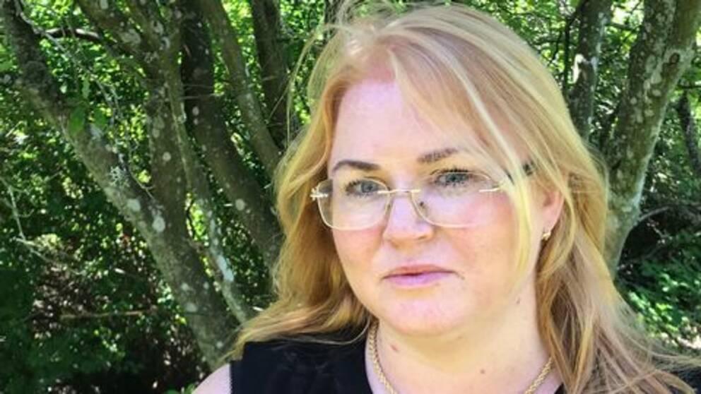 Josefine Palangi Sjöstrand såg hunden attackeras av vildsvinet