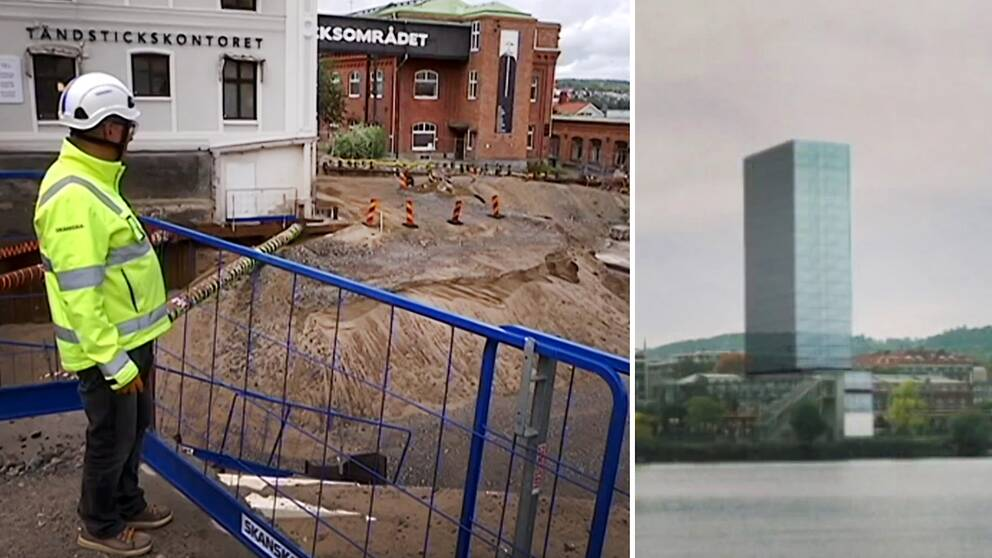På Tändsticksområdet ska 18-våningshuset stå, men projektet har redan stött på patrull och enligt Skanska bedöms nu Höghushotellet stå klart tidigast 2022.