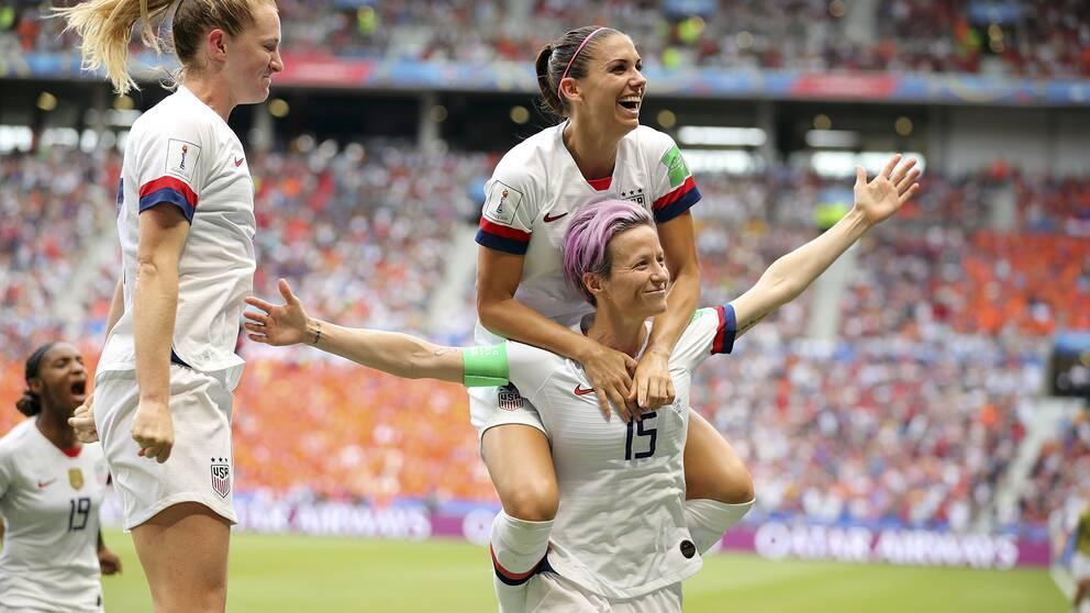 USA vann VM för andra gången i rad – och för fjärde gången någonsin.