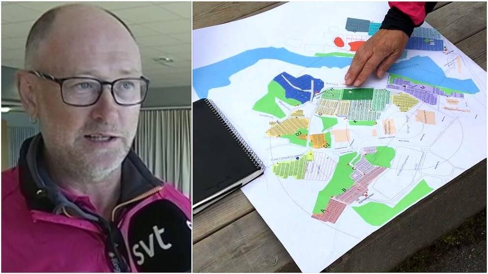 Magnus Hedegård, byggansvarig för O-ringen.