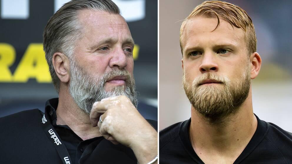 Björn Wesström och Daniel Sundgren.