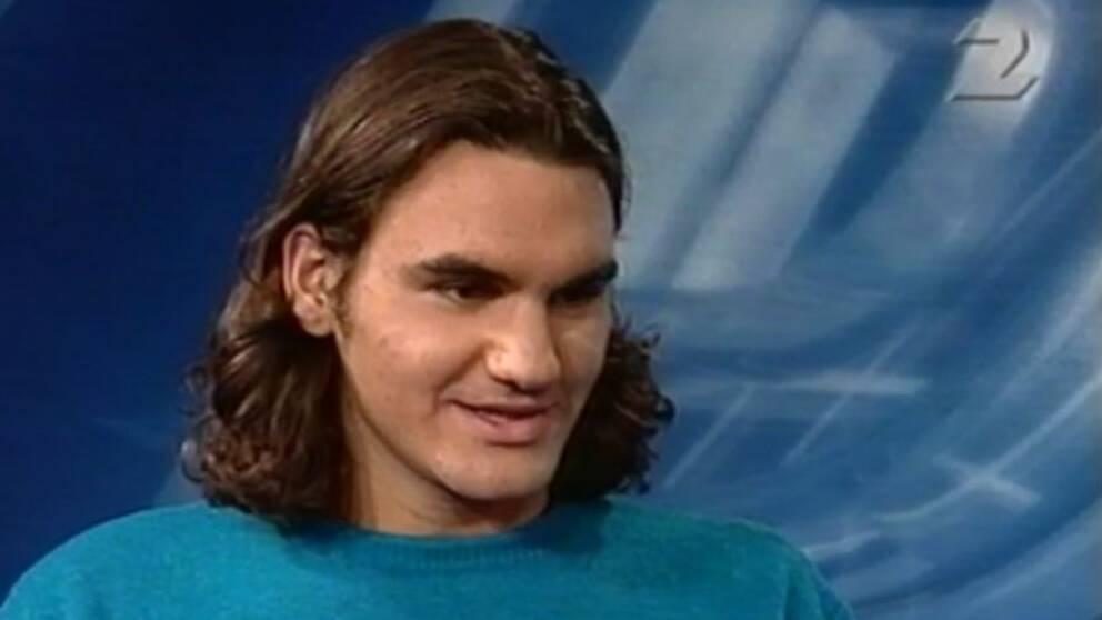 Roger Federer gästade Sportspegeln.