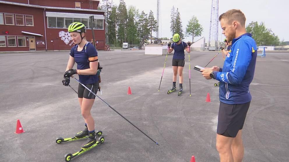 Anders Byström och Emma Nilsson