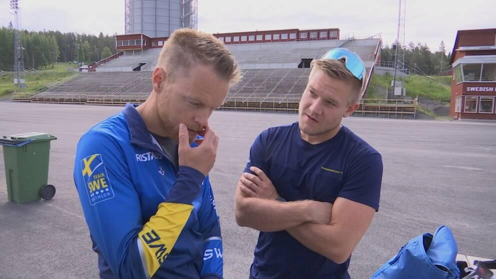 Anders Byström och Johannes Lukas
