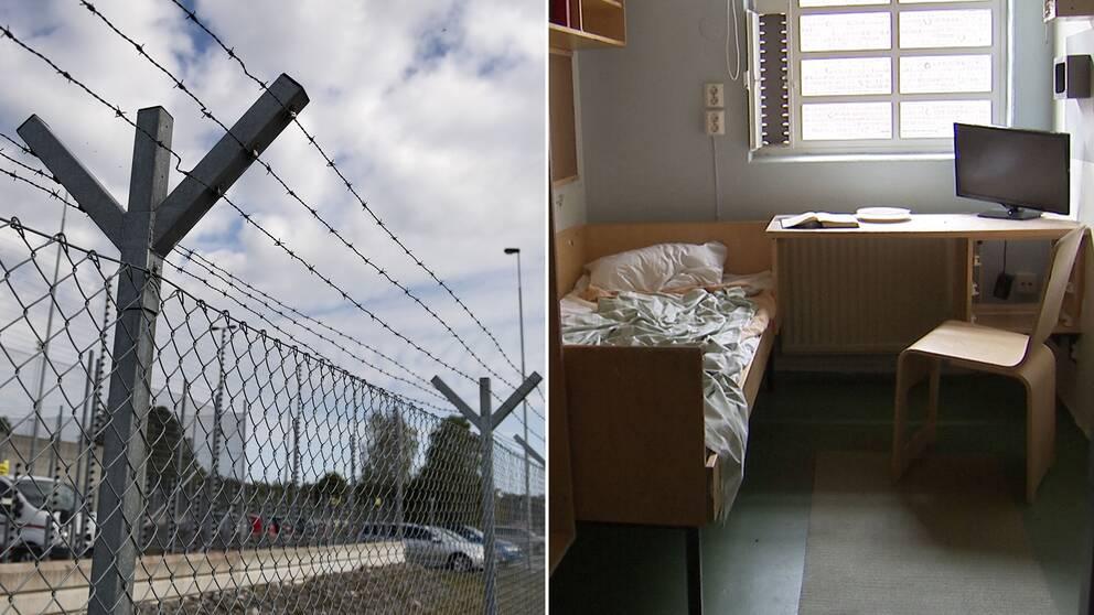 Utanför och inuti ett fängelse