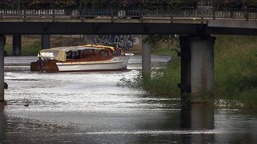 Båtbuss i trafik