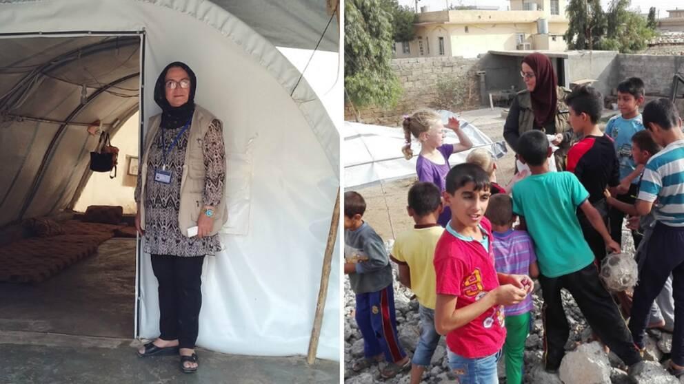 I augusti åker Sara Doski återigen till flyktinglägren på gränsen mellan Syrien och Irak, en resa hon gjort över tio gånger de senaste åren.