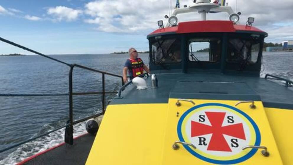 sjöräddning, sjöräddningsbåt, sjö, hav, båt, sjöräddningssällskapet.