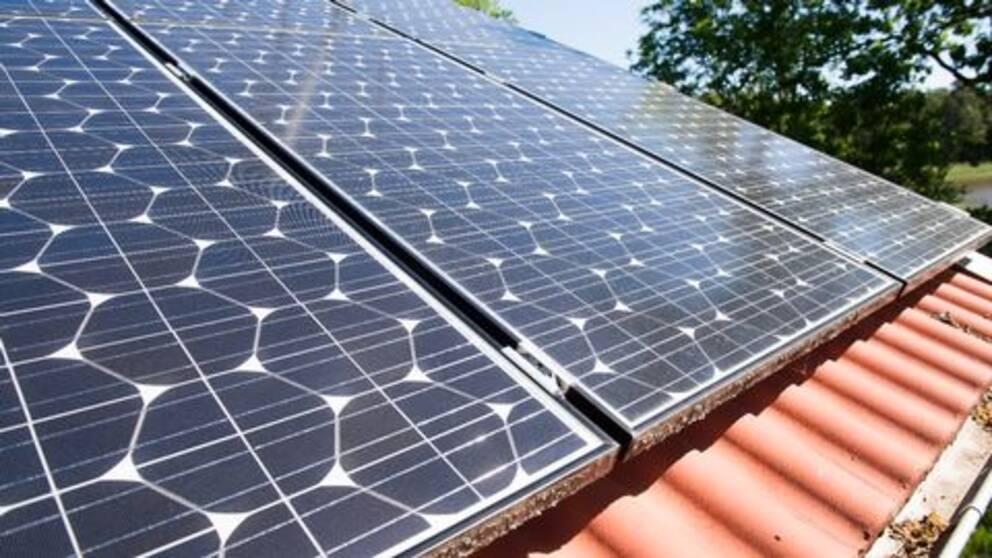 Solcellsanläggningar på tak