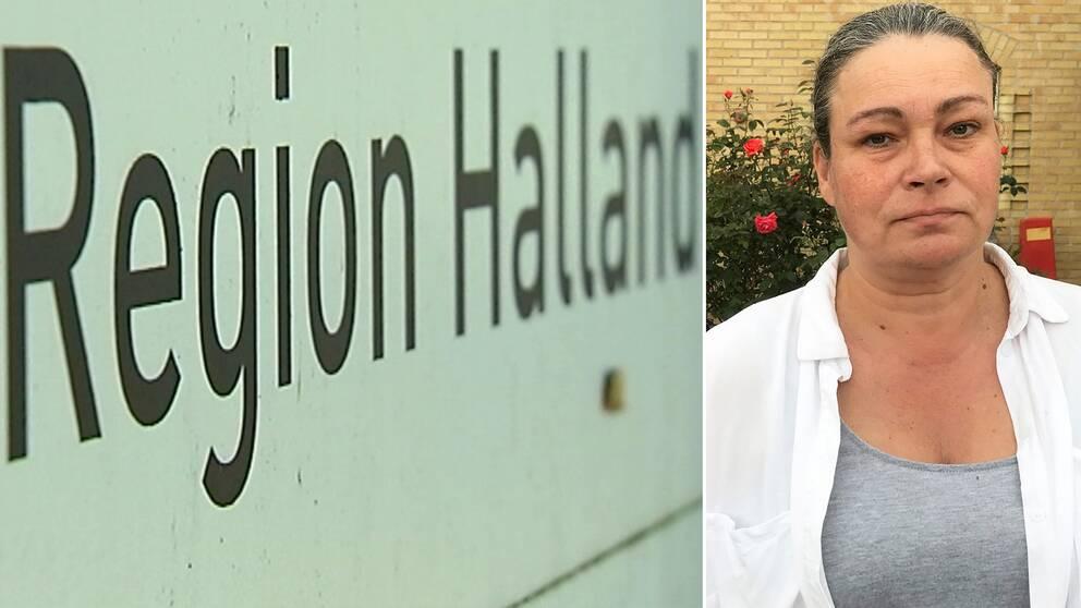 Camilla Tellström, ordförande för Vårdförbundet i Halland, menar att vårdpersonalen känner sig ilskna.