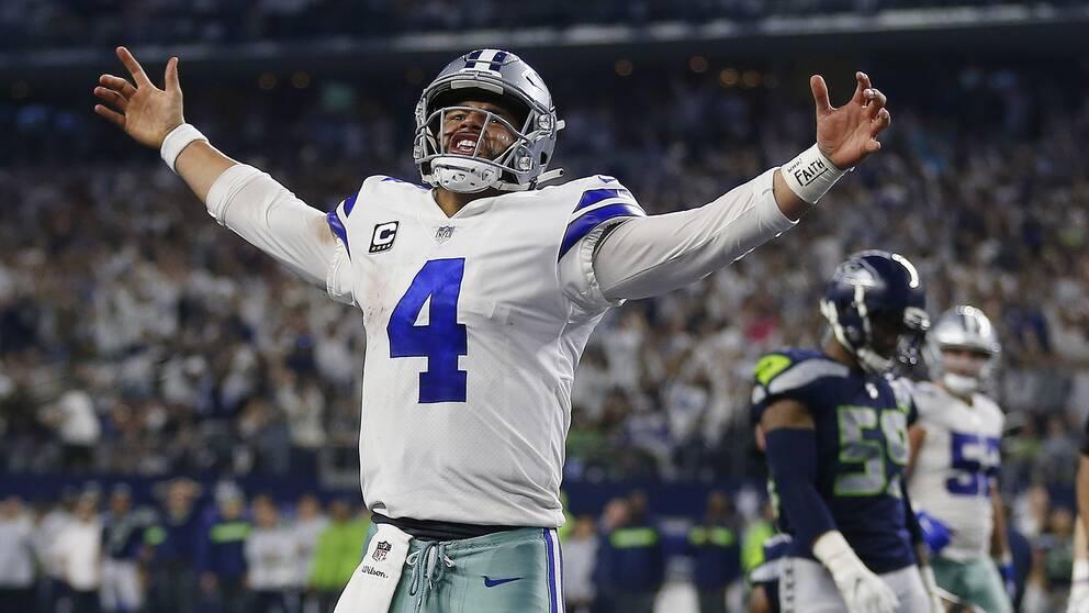Dak Prescott och hans Dallas Cowboys är återigen högst upp på Forbes lista.